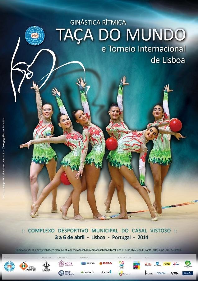 Gin�stica R�tmica: Ta�a do Mundo e Torneio Internacional de Lisboa
