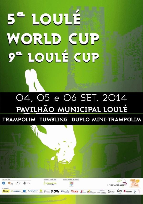 Ta�a do Mundo de Gin�stica de Trampolins Loul� 2014